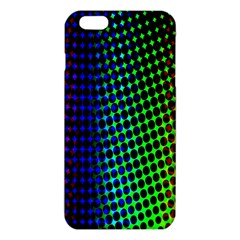 Digitally Created Halftone Dots Abstract Background Design Iphone 6 Plus/6s Plus Tpu Case by Nexatart