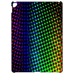 Digitally Created Halftone Dots Abstract Background Design Apple Ipad Pro 12 9   Hardshell Case