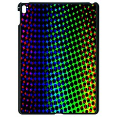 Digitally Created Halftone Dots Abstract Background Design Apple Ipad Pro 9 7   Black Seamless Case by Nexatart