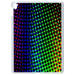 Digitally Created Halftone Dots Abstract Background Design Apple Ipad Pro 9 7   White Seamless Case