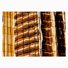 Abstract Architecture Background Large Glasses Cloth (2 Side)