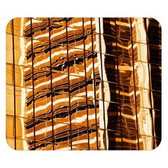 Abstract Architecture Background Double Sided Flano Blanket (small)