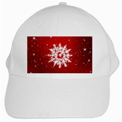 Background Christmas Star White Cap by Nexatart