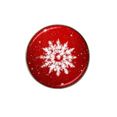 Background Christmas Star Hat Clip Ball Marker