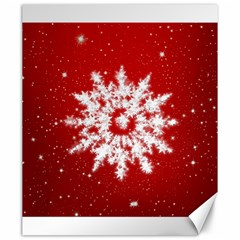Background Christmas Star Canvas 20  X 24   by Nexatart