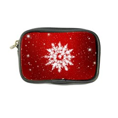 Background Christmas Star Coin Purse by Nexatart