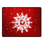 Background Christmas Star Fleece Blanket (Small) 50 x40 Blanket Front