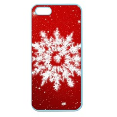 Background Christmas Star Apple Seamless Iphone 5 Case (color)