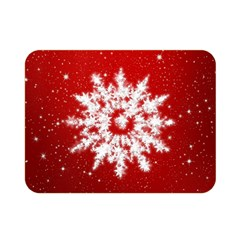 Background Christmas Star Double Sided Flano Blanket (mini)