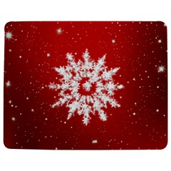 Background Christmas Star Jigsaw Puzzle Photo Stand (rectangular) by Nexatart