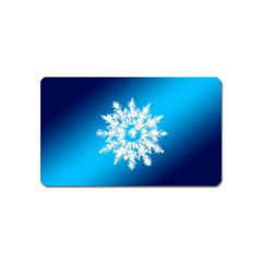 Background Christmas Star Magnet (name Card) by Nexatart