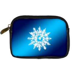 Background Christmas Star Digital Camera Cases by Nexatart