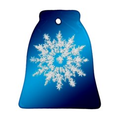 Background Christmas Star Ornament (bell)