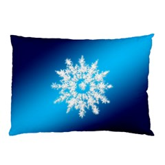 Background Christmas Star Pillow Case (two Sides) by Nexatart