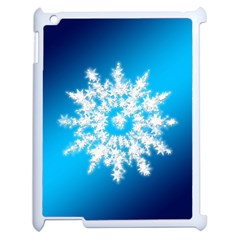 Background Christmas Star Apple Ipad 2 Case (white) by Nexatart
