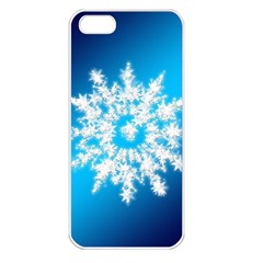 Background Christmas Star Apple Iphone 5 Seamless Case (white)