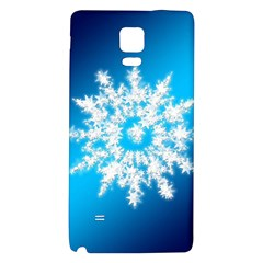Background Christmas Star Galaxy Note 4 Back Case by Nexatart