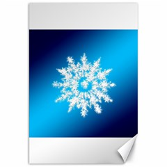 Background Christmas Star Canvas 20  X 30   by Nexatart