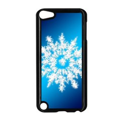 Background Christmas Star Apple Ipod Touch 5 Case (black)