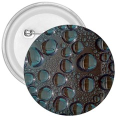 Drop Of Water Condensation Fractal 3  Buttons by Nexatart