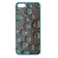 Drop Of Water Condensation Fractal Apple Seamless Iphone 5 Case (color) by Nexatart