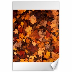Fall Foliage Autumn Leaves October Canvas 24  X 36  by Nexatart
