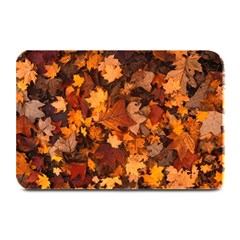 Fall Foliage Autumn Leaves October Plate Mats by Nexatart