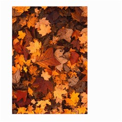 Fall Foliage Autumn Leaves October Large Garden Flag (two Sides) by Nexatart
