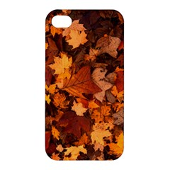 Fall Foliage Autumn Leaves October Apple Iphone 4/4s Premium Hardshell Case