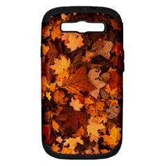 Fall Foliage Autumn Leaves October Samsung Galaxy S Iii Hardshell Case (pc+silicone) by Nexatart