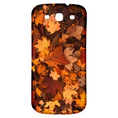 Fall Foliage Autumn Leaves October Samsung Galaxy S3 S Iii Classic Hardshell Back Case by Nexatart