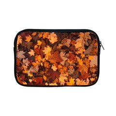 Fall Foliage Autumn Leaves October Apple Ipad Mini Zipper Cases by Nexatart