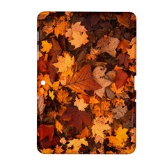 Fall Foliage Autumn Leaves October Samsung Galaxy Tab 2 (10 1 ) P5100 Hardshell Case  by Nexatart