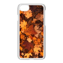 Fall Foliage Autumn Leaves October Apple Iphone 7 Seamless Case (white) by Nexatart