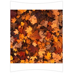 Fall Foliage Autumn Leaves October Back Support Cushion by Nexatart