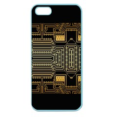 Board Digitization Circuits Apple Seamless Iphone 5 Case (color) by Nexatart