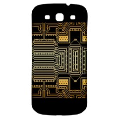 Board Digitization Circuits Samsung Galaxy S3 S Iii Classic Hardshell Back Case by Nexatart
