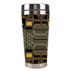 Board Digitization Circuits Stainless Steel Travel Tumblers by Nexatart