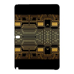 Board Digitization Circuits Samsung Galaxy Tab Pro 10 1 Hardshell Case by Nexatart