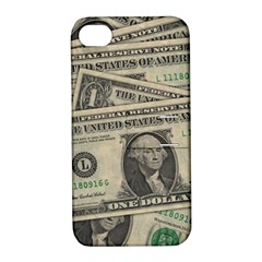 Dollar Currency Money Us Dollar Apple Iphone 4/4s Hardshell Case With Stand by Nexatart