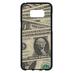 Dollar Currency Money Us Dollar Samsung Galaxy S8 Plus Black Seamless Case