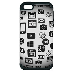 Icon Ball Logo Google Networking Apple Iphone 5 Hardshell Case (pc+silicone) by Nexatart