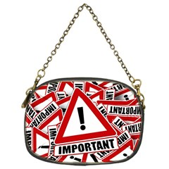 Important Stamp Imprint Chain Purses (one Side)  by Nexatart
