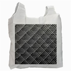 Grid Wire Mesh Stainless Rods Recycle Bag (one Side)