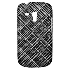 Grid Wire Mesh Stainless Rods Galaxy S3 Mini by Nexatart