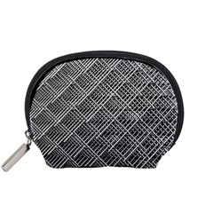 Grid Wire Mesh Stainless Rods Accessory Pouches (small)  by Nexatart