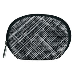 Grid Wire Mesh Stainless Rods Accessory Pouches (medium)  by Nexatart