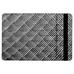 Grid Wire Mesh Stainless Rods Ipad Air 2 Flip