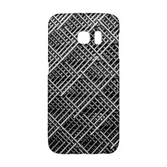 Grid Wire Mesh Stainless Rods Galaxy S6 Edge by Nexatart