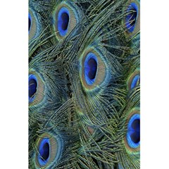 Peacock Feathers Blue Bird Nature 5 5  X 8 5  Notebooks by Nexatart